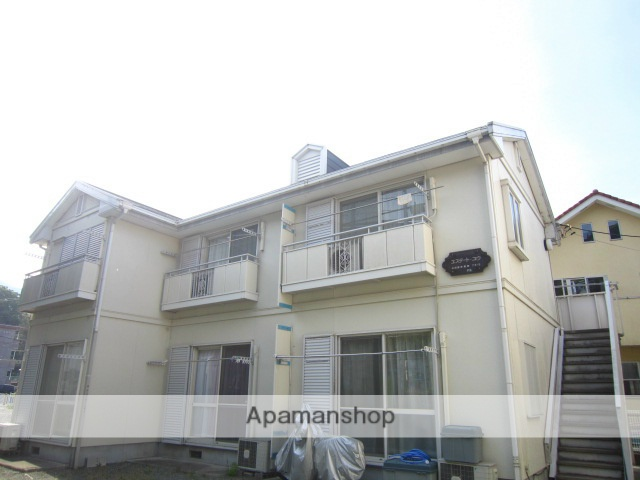 神奈川県小田原市、早川駅徒歩22分の築21年 2階建の賃貸アパート