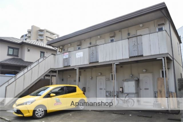 神奈川県小田原市、鴨宮駅徒歩5分の築30年 2階建の賃貸アパート