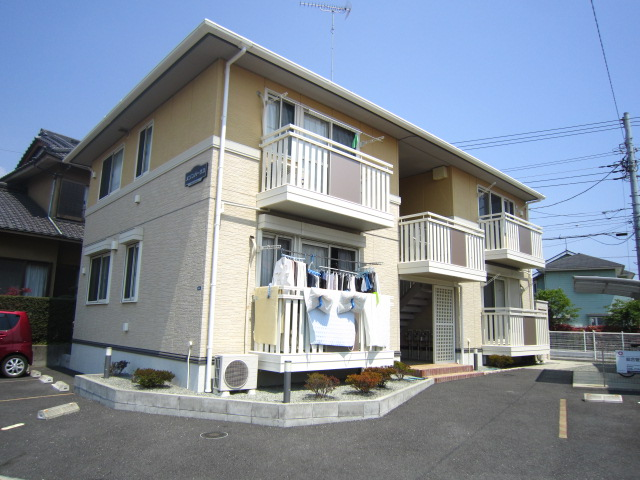 神奈川県小田原市、鴨宮駅徒歩11分の築7年 2階建の賃貸アパート