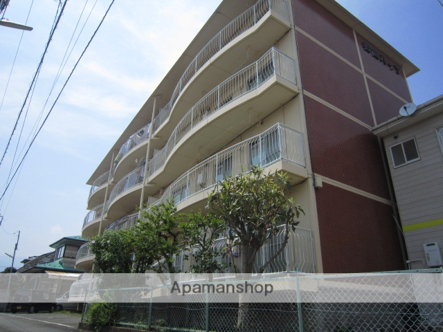 神奈川県小田原市、足柄駅徒歩9分の築34年 4階建の賃貸マンション