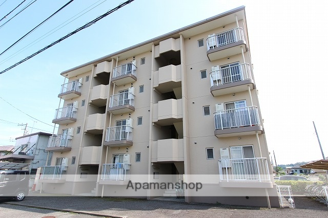 神奈川県小田原市、富水駅徒歩11分の築28年 4階建の賃貸マンション