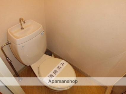 神奈川県伊勢原市東大竹2丁目[3K/51.8m2]のトイレ