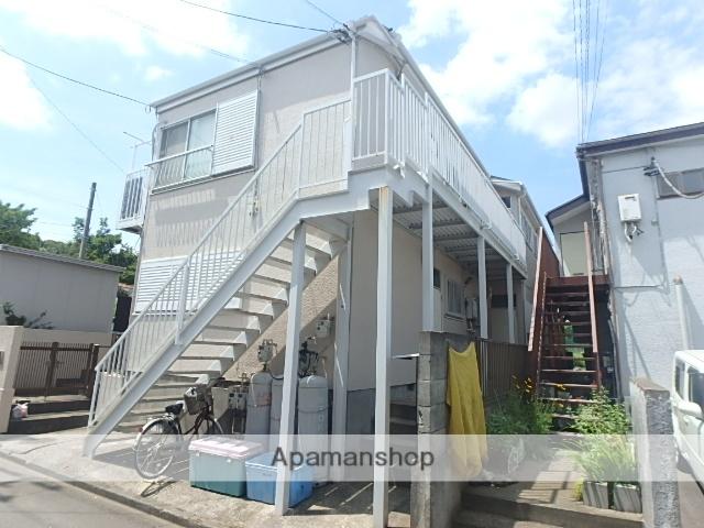 神奈川県藤沢市、善行駅徒歩19分の築30年 2階建の賃貸アパート