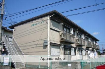 神奈川県藤沢市、長後駅徒歩11分の築33年 2階建の賃貸アパート