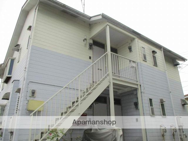 神奈川県藤沢市、湘南台駅徒歩51分の築23年 2階建の賃貸アパート