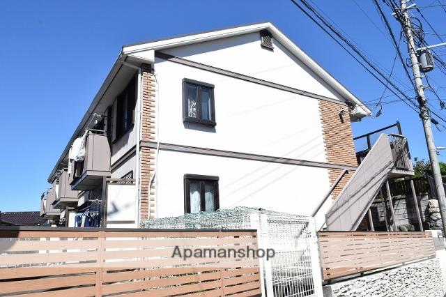 神奈川県藤沢市、六会日大前駅徒歩20分の築24年 2階建の賃貸アパート