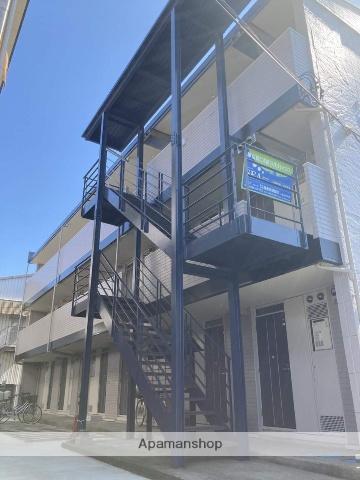 神奈川県藤沢市、湘南台駅徒歩12分の築21年 3階建の賃貸アパート