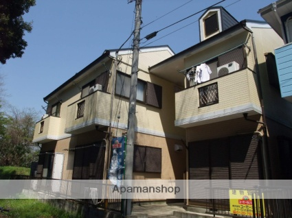 神奈川県秦野市、東海大学前駅バス2分養泉院下車後徒歩6分の築20年 2階建の賃貸アパート