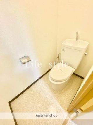 パウロニアバレーテイク3天王町[2LDK/42.61m2]のトイレ