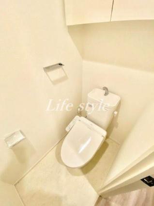 パークアクシス横濱大通り公園[1DK/33.25m2]のトイレ