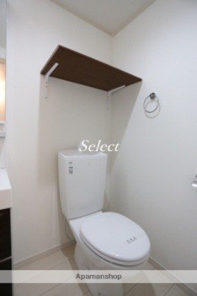 ハーミットクラブハウス山手山元町[1R/16.56m2]のトイレ