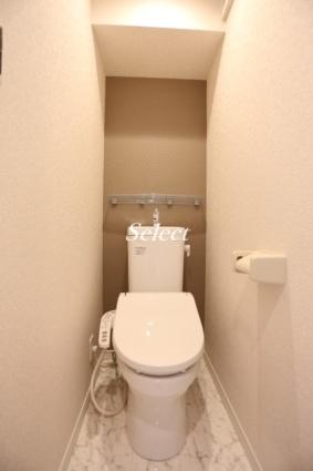 ユナイト根岸ポール・ヴァレリー[1R/12.5m2]のトイレ