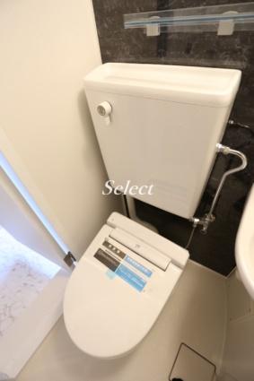 ユナイト根岸ヘルマン・ヘッセ[1R/12.5m2]のトイレ