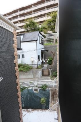 ユナイト根岸ヘルマン・ヘッセ[1R/12.5m2]のバルコニー