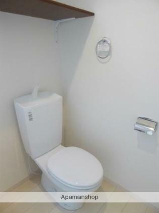 ハーミットクラブハウス山手Ⅲ[1R/17.16m2]のトイレ