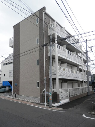 レオネクスト横浜HONGO[1K/21.47m2]の外観
