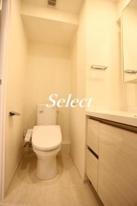 パークアクシス横濱大通り公園[1K/24.96m2]のトイレ