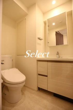 パークアクシス横濱大通り公園[1K/24.96m2]の洗面所