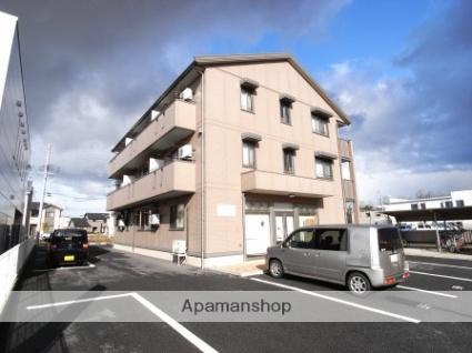 新潟県新潟市江南区、亀田駅徒歩2分の築11年 3階建の賃貸アパート