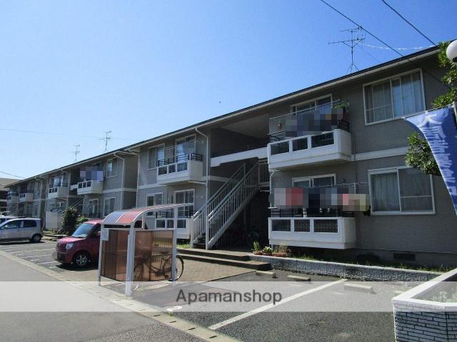新潟県新潟市中央区の築20年 2階建の賃貸アパート