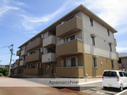 新潟県新潟市中央区の築3年 3階建の賃貸アパート