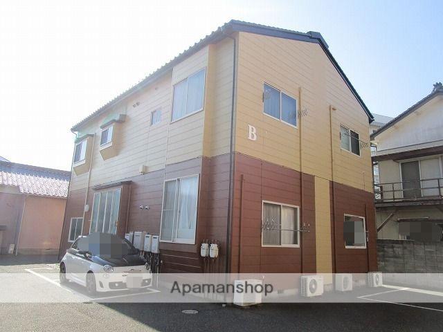 新潟県新潟市中央区、新潟駅徒歩14分の築25年 2階建の賃貸アパート