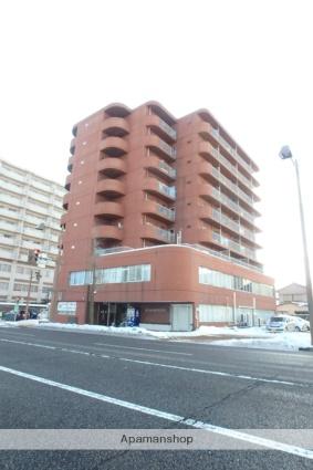 新潟県新潟市中央区、新潟駅徒歩13分の築38年 9階建の賃貸マンション