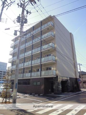 新潟県新潟市中央区、新潟駅徒歩10分の築3年 6階建の賃貸マンション