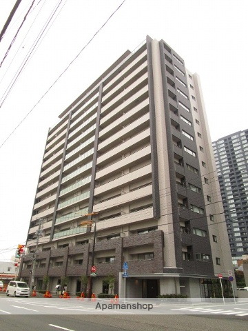 新潟県新潟市中央区、新潟駅徒歩4分の築2年 15階建の賃貸マンション