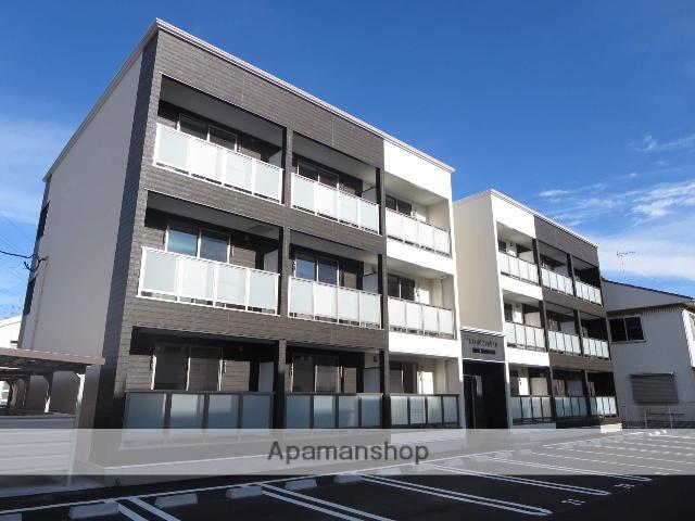新潟県新潟市中央区、新潟駅徒歩24分の築2年 3階建の賃貸アパート