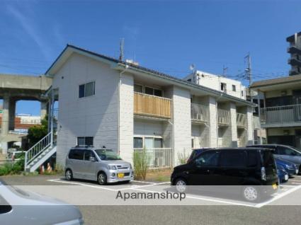 新潟県新潟市中央区、新潟駅徒歩5分の築20年 2階建の賃貸アパート