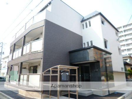 新潟県新潟市中央区、新潟駅徒歩7分の築4年 3階建の賃貸アパート
