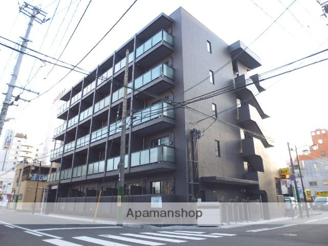 新潟県新潟市中央区、新潟駅徒歩6分の築4年 5階建の賃貸マンション