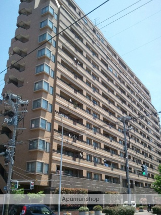 新潟県新潟市中央区、新潟駅徒歩5分の築15年 14階建の賃貸マンション