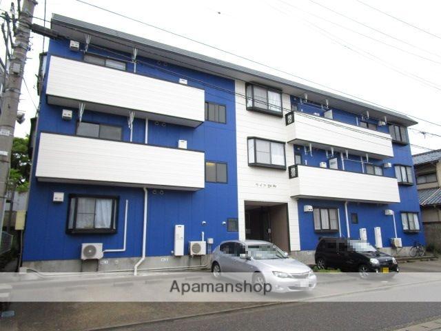 新潟県新潟市中央区、白山駅徒歩16分の築22年 3階建の賃貸マンション