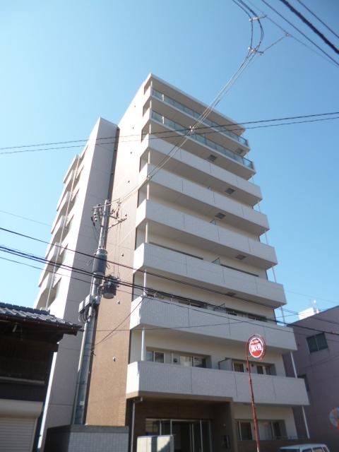 新潟県新潟市中央区、新潟駅徒歩23分の築5年 9階建の賃貸マンション