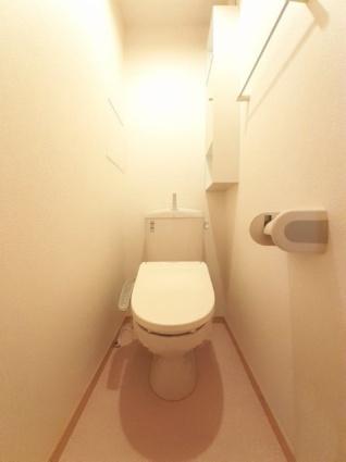 アル・ソーレ[2LDK/56.98m2]のトイレ
