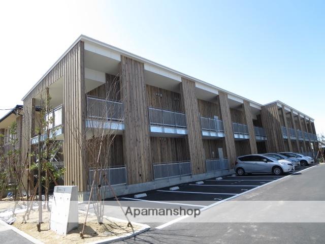 新潟県新潟市中央区の築2年 2階建の賃貸アパート