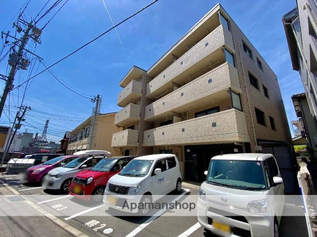 新潟県新潟市中央区、白山駅徒歩12分の築1年 4階建の賃貸マンション