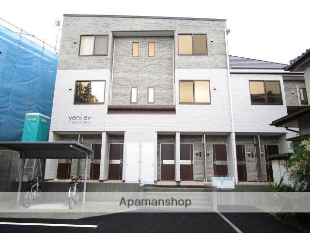 新潟県新潟市中央区、白山駅徒歩14分の新築 3階建の賃貸アパート