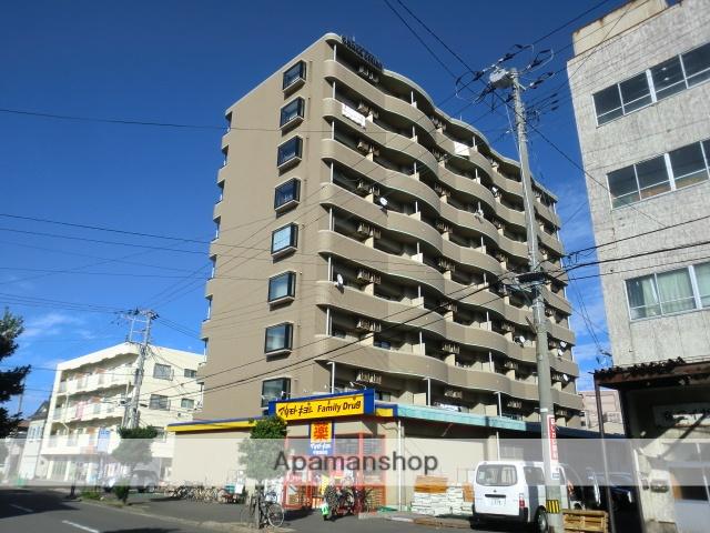 新潟県新潟市中央区の築15年 9階建の賃貸マンション