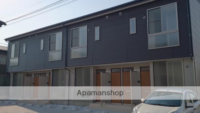 新潟県新潟市中央区、新潟駅徒歩18分の築2年 2階建の賃貸アパート