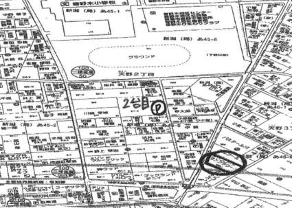 タウンコート・ルピナス[2LDK/61.88m2]の配置図
