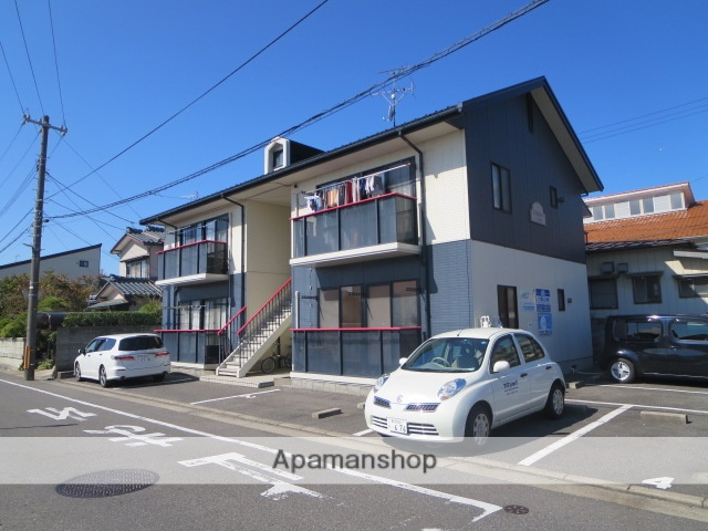 新潟県新潟市中央区、新潟駅徒歩25分の築21年 2階建の賃貸アパート