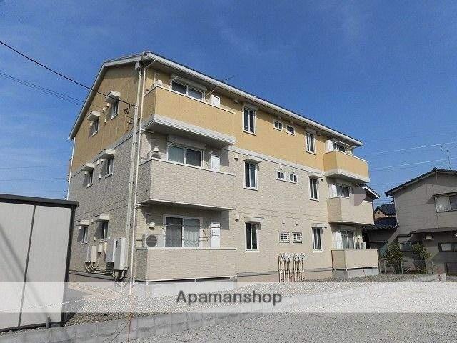 新潟県新潟市東区、新潟駅徒歩34分の築2年 3階建の賃貸アパート