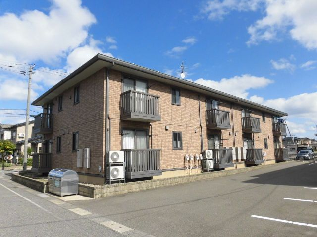 新潟県新潟市東区の築8年 2階建の賃貸アパート