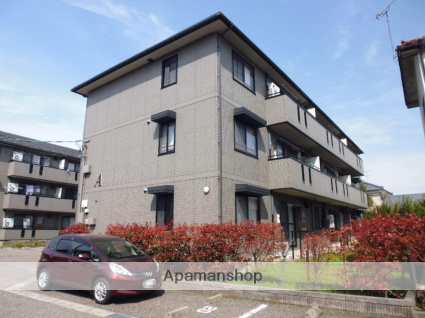 新潟県新潟市東区の築17年 3階建の賃貸アパート