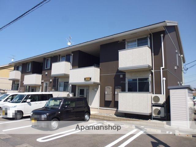 新潟県新潟市東区の築6年 2階建の賃貸アパート