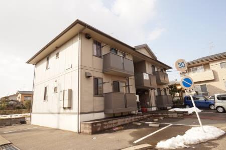 新潟県新潟市東区の築14年 2階建の賃貸アパート