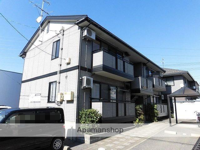 新潟県新潟市東区の築19年 2階建の賃貸アパート